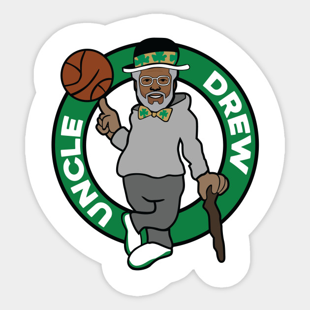 Uncle Drew Celtics Sticker Teepublic