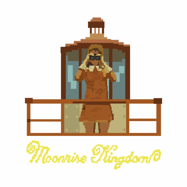 Moonrise Kingdom 8 Bits