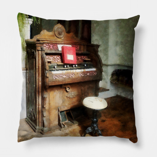 Music - Church Organ With Swivel Stool