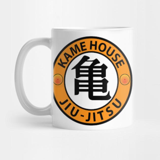 Kame House Jiu Jitsu Dragon Ball Mug Teepublic
