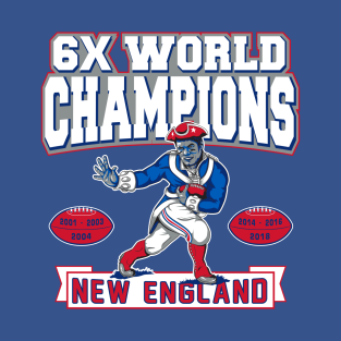 Patriots 2019 Championship Graphic 4 T-Shirt d9df337b6