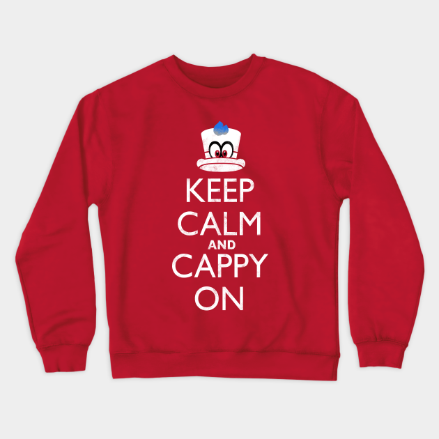 Keep Calm and Cappy On!