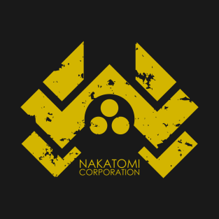 Nakatomi Corporation (aged) t-shirts