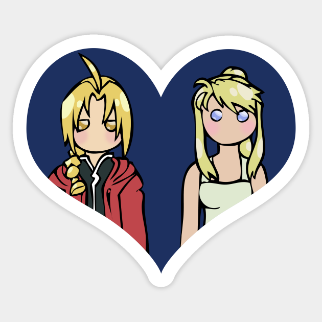 Ed and Winry - shipping dolls