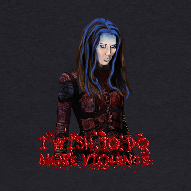 Angel - Illyria - I Wish To Do More Violence