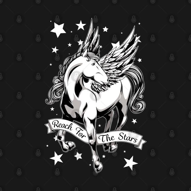 Reach for the Stars - B&W