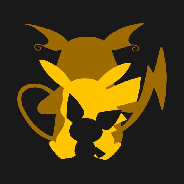 Pichu, Pikachu & Raichu - Pikachu - T-Shirt   TeePublicPichu Pikachu Raichu