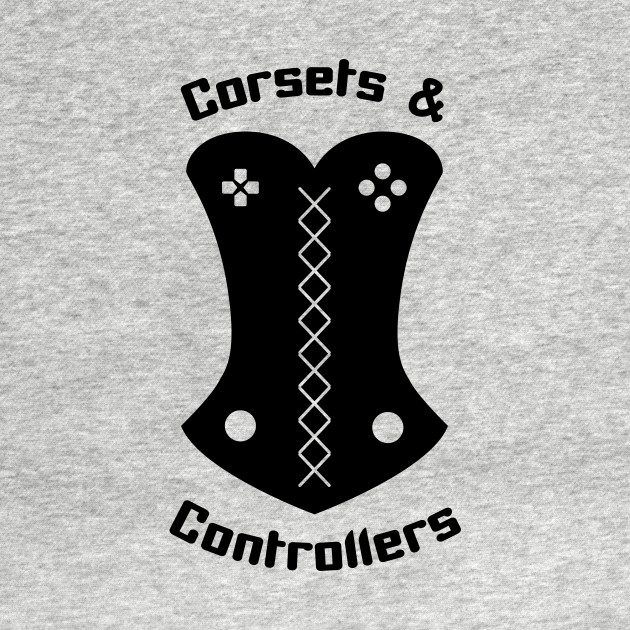 Corsets and Controllers Logo