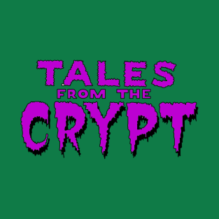 Tales From the Crypt Purple t-shirts