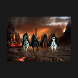 Four Horsemen Of The Apocalypse T-Shirts | TeePublic