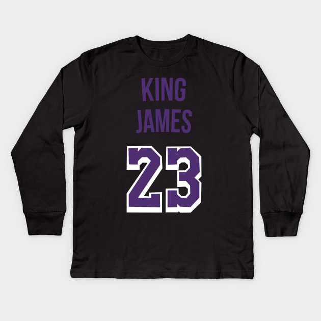 new style 6d7d2 23192 Lebron James 'King James' Nickname Jersey - Los Angeles Lakers