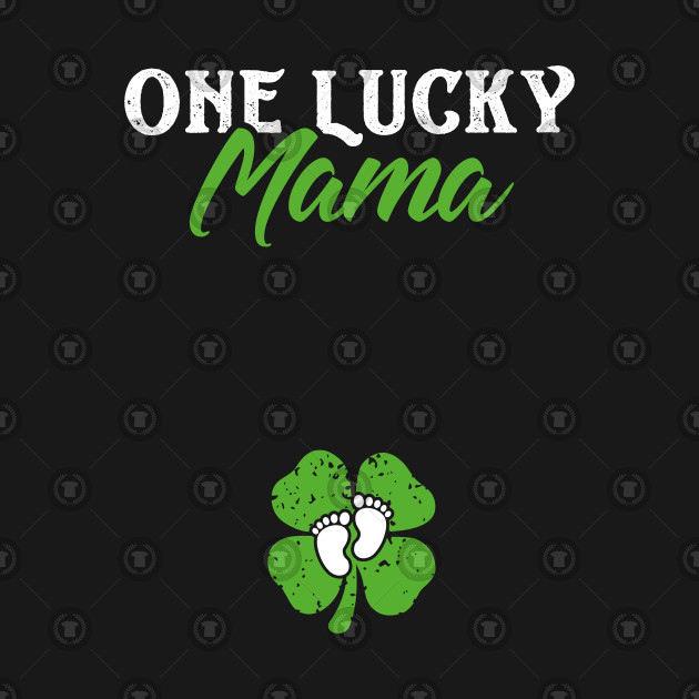 d1ae948f One Lucky Mama St Patricks Day Pregnancy Announcement - One Lucky ...