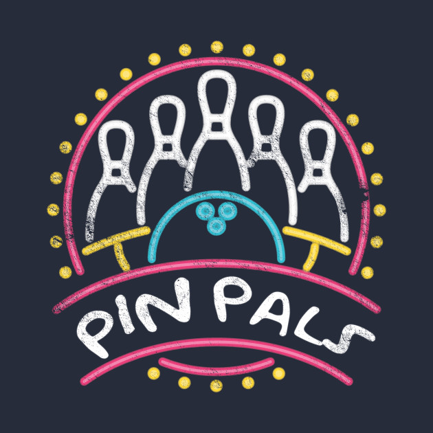 Pin Pals, SIMPSONS bowling team, distressed
