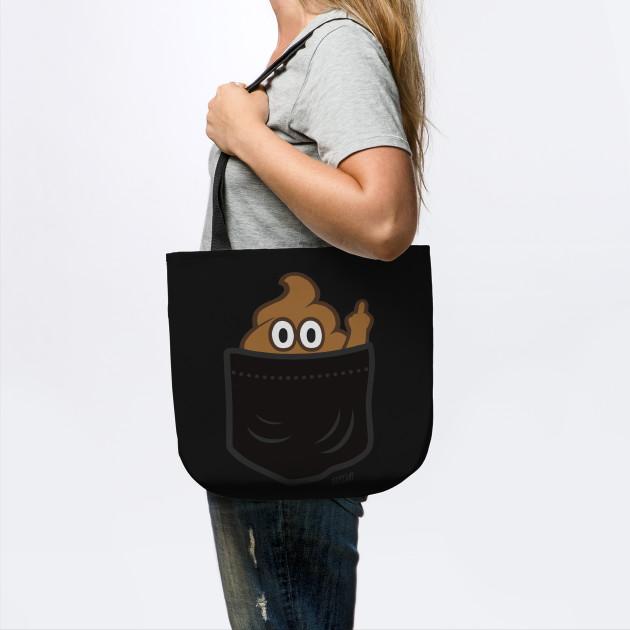 Pocket Poop Emoji Finger