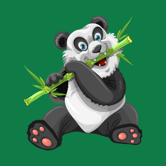 Baby Panda and His Bamboo