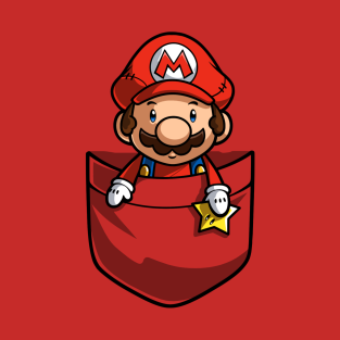 Pocket Super Mario t-shirts