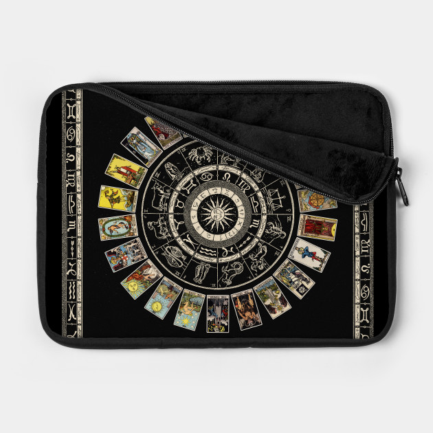 Astrology Wheel & Tarot Tapestry