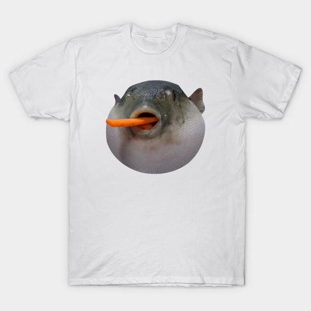 Puffer fish Meme - Meme - Koszulka | TeePublic PL
