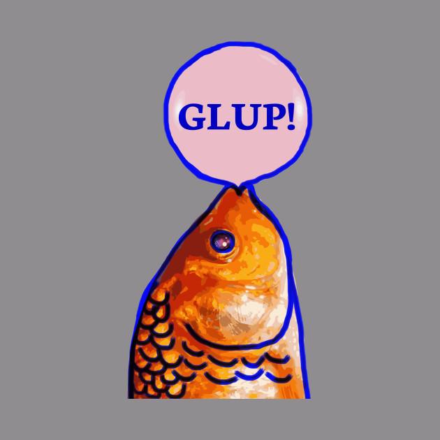 Fish Making Bubble Gum