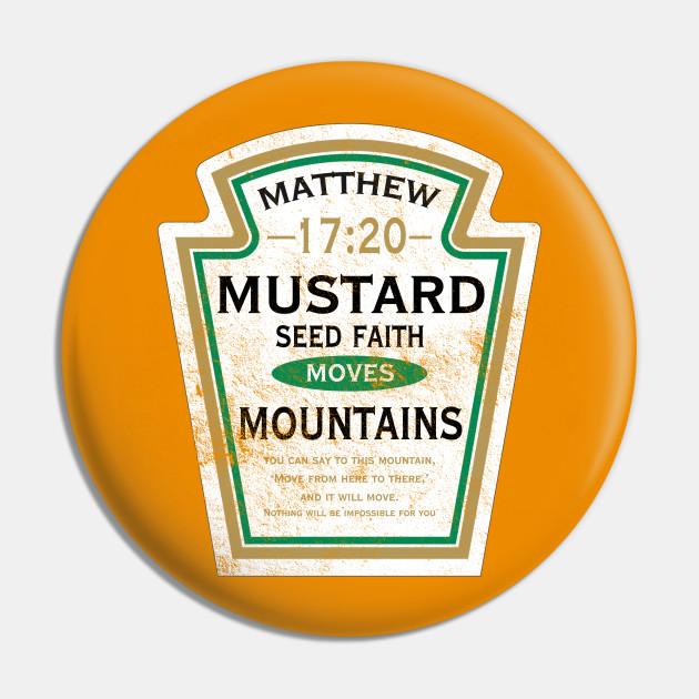 Mustard Seed Faith, distressed