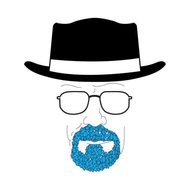 Heisenberg's blue goatee