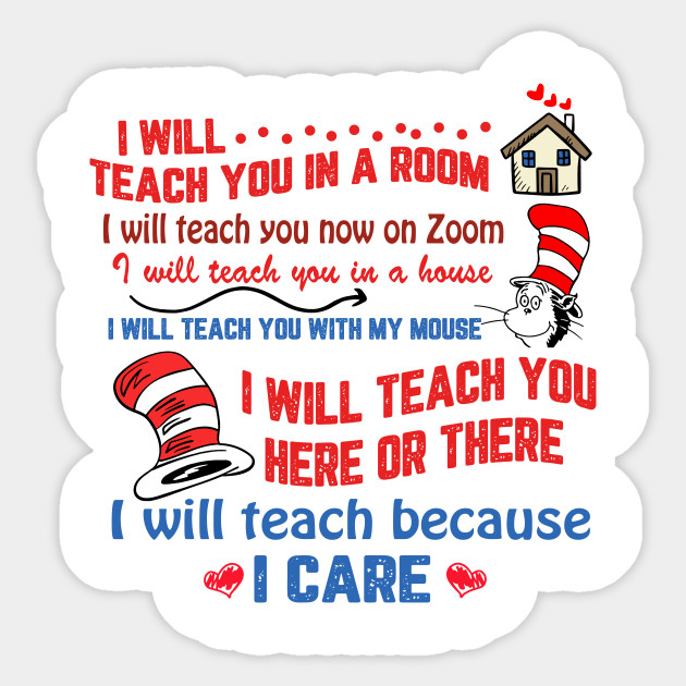 I will teach you in a room, I will teach you now on zoom, I will ...
