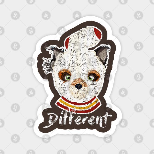 Fantastic Mr Fox Ash Different Distressed Barn Shirt Usa Fantastic Mr Fox Magnet Teepublic