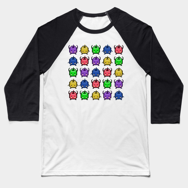 Stardew Valley Junimo Party Baseball T-Shirt
