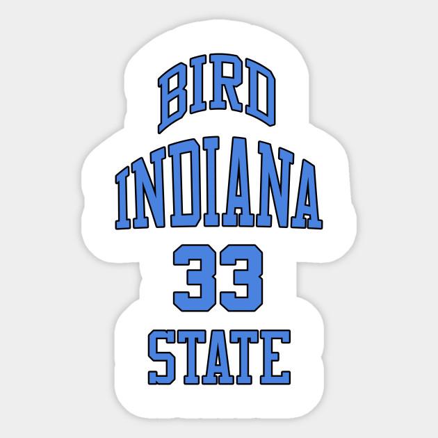 hot sale online 5a3b7 89e1a Larry Bird Indiana State 33