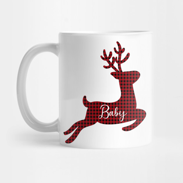 Baby Deer Plaid Christmas Shirts, Christmas Family Shirts, Matching Christmas Shirts, Merry Christmas Shirt, Christmas Shirt, Family Christmas Mug