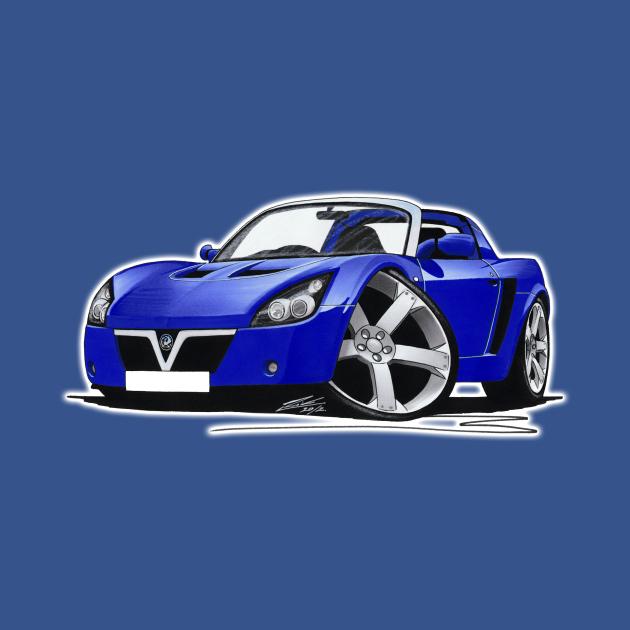 Vauxhall VX220 Blue