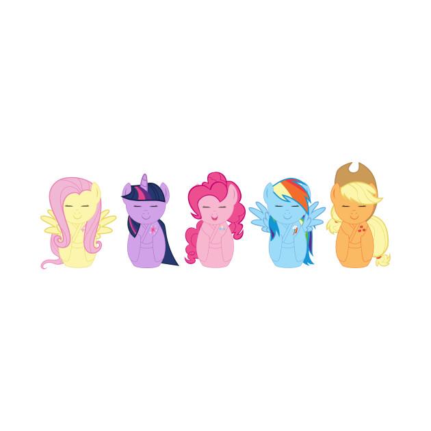 My Little Pony Kokeshi