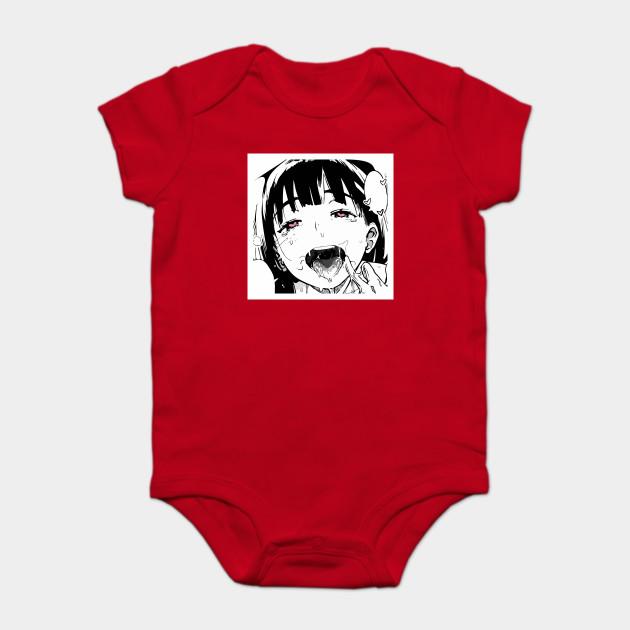 26dc72ad Ahegao Shirt Anime Tee Manga Tshirt - Ahegao Face - Onesie | TeePublic