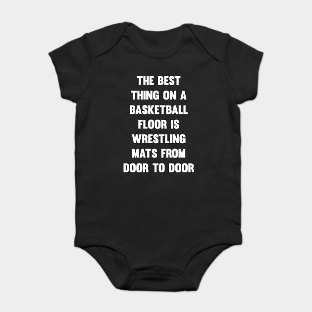 df853022 Best Thing on Basketball Floor Funny Wrestling T-shirt - Basketball ...