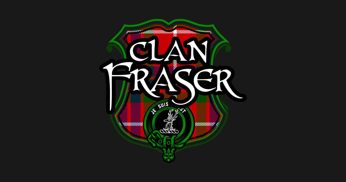 Clan Fraser Surname Scottish Clan Tartan Crest Badge by highlandheraldry