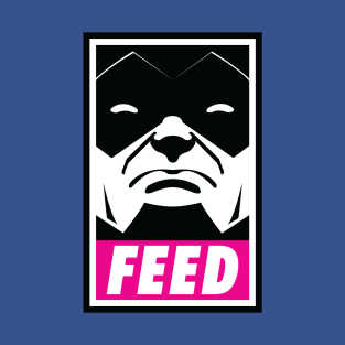 Obey Feed (Gal) t-shirts