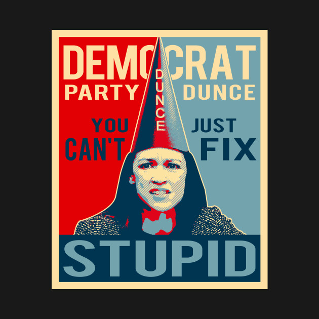 Image result for AOC dunce cap