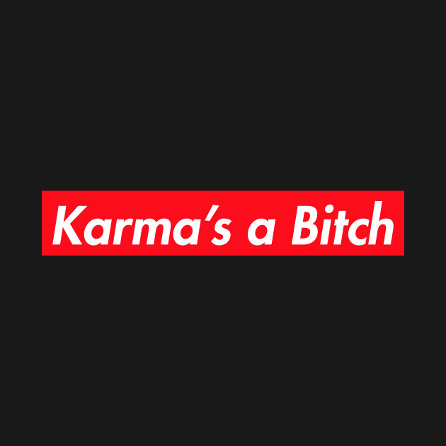 Image result for karma's a bitch