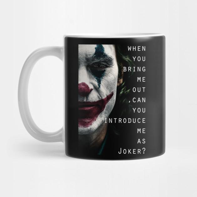joker joaquin phoenix 02 MUG tasse