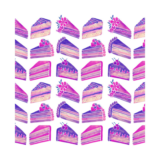 Unicorn Cake Slices