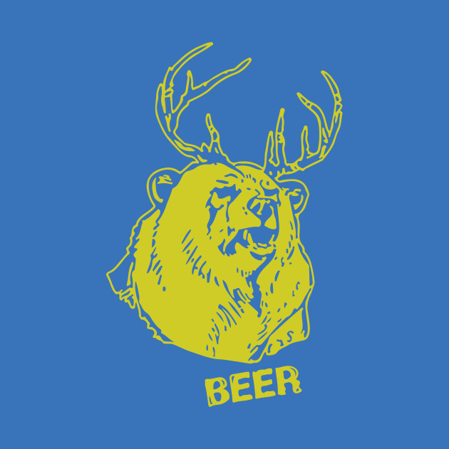 Dear Hoodie Sweatshirt Adult Navy It/'s Always Sunny in Philadelphia Beer Bear