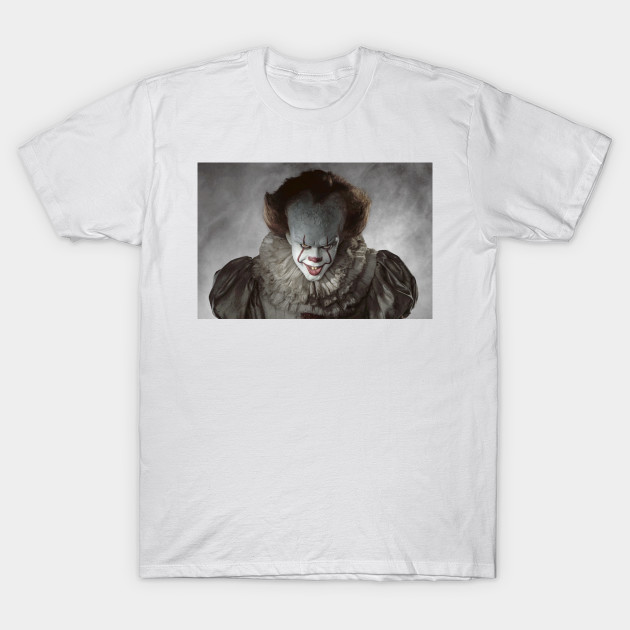 Pennywise IT Stephen King Horror T-Shirt-TOZ