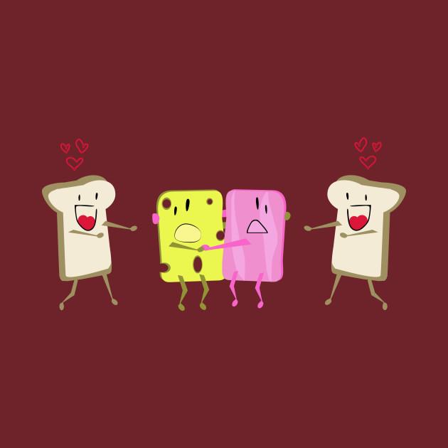 Dangerous love: sandwich