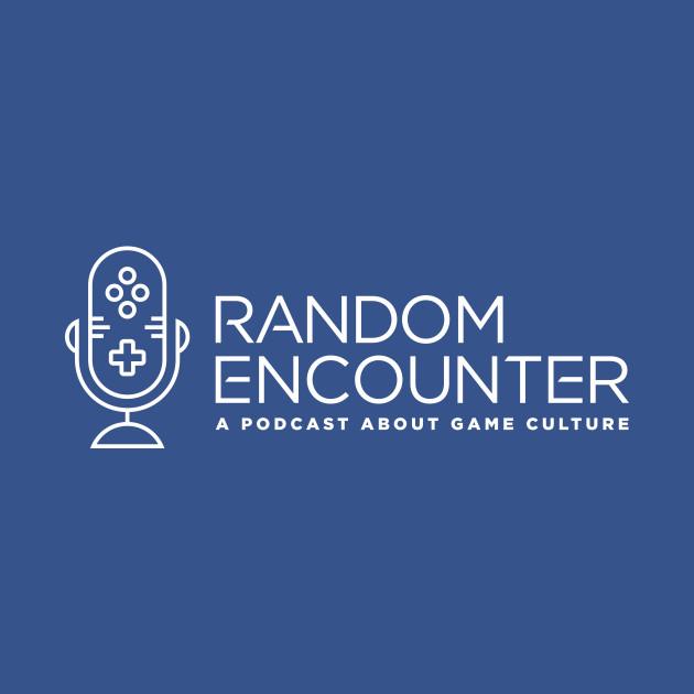 Random Encounter Logo White