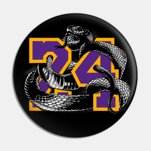 Kobe Bryant 24 Forever Pins and Buttons | TeePublic
