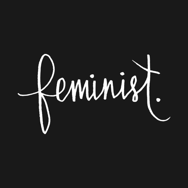 Feminist Cursive Calligraphy