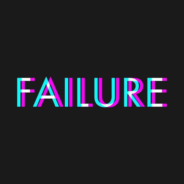 Failure Anaglyph Glitch Art Vaporwave Gift
