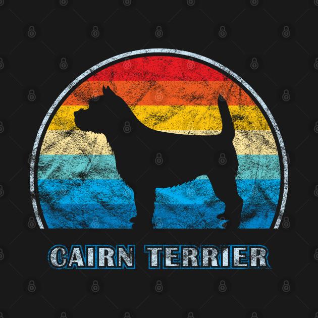 Cairn Terrier Vintage Design Dog