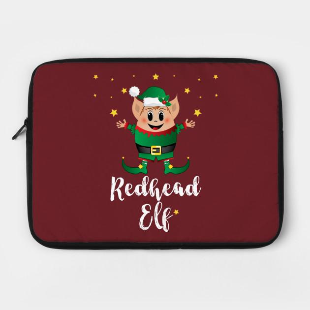 Redhead Elf Christmas Elves Xmas Matching Family Group