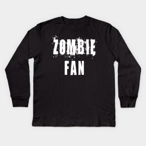 53a7a7293 Zombie Fan Kids Long Sleeve T-Shirts | TeePublic